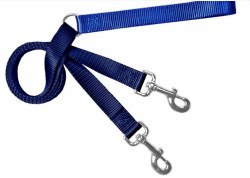 "2 Hounds - Training Leash - Navy - 5/8"" Wide"
