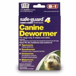 8in1 - SafeGuard Dog Dewormer - Medium Dog - 2 grams