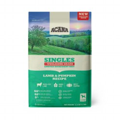 Acana Singles - Lamb and Pumpkin + Wholesome Grains - Dry Dog Food - 11.5 lbs