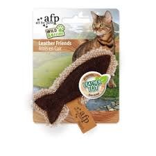 All For Paws - Cat Toy - Wild and Nature - Leather Friends