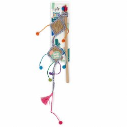All For Paws - Cat Toy - Whisker Fiesta - Wand Kite