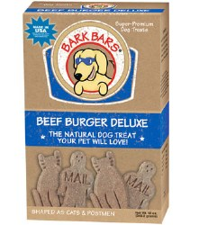 Bark Bars - Dog Treats - Beef Burger Deluxe - 12 oz