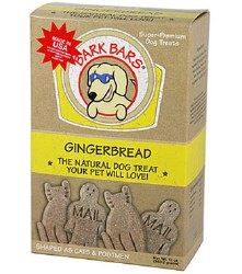 Bark Bars - Dog Treats - Gingerbread - 12 oz