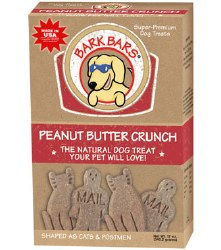 Bark Bars - Dog Treats - Peanut Butter - 12 oz