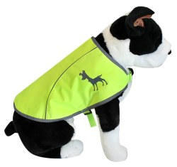 Alcott - Visibility Dog Vest - Yellow - Medium