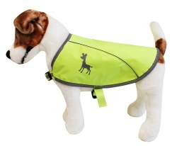 Alcott - Visibility Dog Vest - Yellow - Small