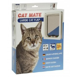 Cat Mate - Cat Door - Large - White