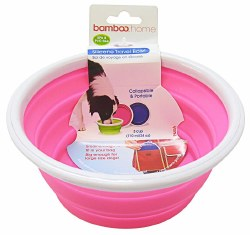 Bamboo - Silicone Travel Bowl - 3 cup