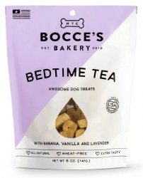 Bocce's Bakery - Crunchy Dog Treats - Limited Edition - Bedtime Tea - 5 oz