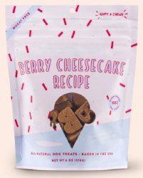 Bocce's Bakery - Scoop Shop Soft and Chewy - Berry Cheesecake - Dog Treats - 6 oz
