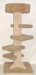 Beatrise - Cat Furniture - Stair Tower - 4'