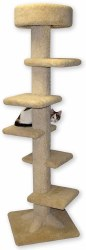Beatrise - Cat Furniture - Spiral Stair Tower - 7'
