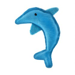 Beco Pets - Cat Toy - Recycled Catnip Toy - Dolphin