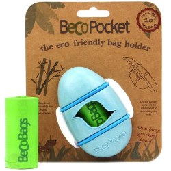 Beco Pets - Poop Bag Dispenser - Blue