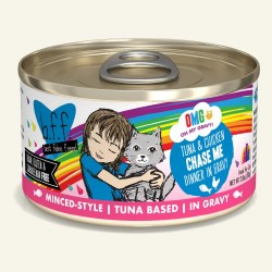BFF OMG - Chase Me with Tuna & Chicken - Canned Cat Food - 2.8 oz