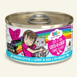 BFF OMG - Lots-O-Luck with Duck & Tuna - Canned Cat Food - 2.8 oz