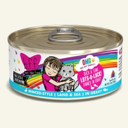 BFF OMG - Lots-O-Luck with Duck & Tuna - Canned Cat Food - 5.5 oz