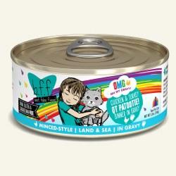 BFF OMG - Chicken & Turkey QT Patootie - Canned Cat Food - 5.5 oz