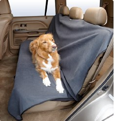 Big Shrimpy - Versa Car Seat Cover - Grey and Black