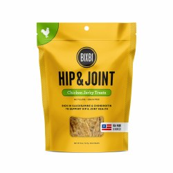 Bixbi - Dog Treats - Hip and Joint - Chicken Jerky - 5 oz