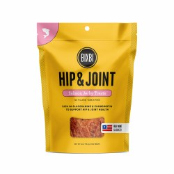 Bixbi - Dog Treats - Hip and Joint - Salmon Jerky - 4 oz