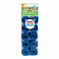Bags on Board - Poop Bags - Blue - 140 count