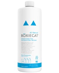 Boxiecat - Stain and Odor Remover Ultra Concentrate - Scent Free - 32 oz