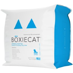 Boxiecat - Clumping Clay Litter - Scent Free - 28lb