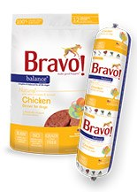 IN STORE AND CURB-SIDE PICK UP ONLY - Bravo - Balance Chicken Patties - Raw Dog Food - 3 lb