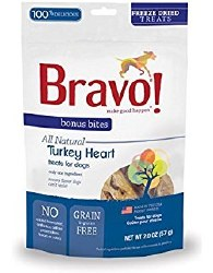Bravo - Turkey Heart - Dog Treats - 2 oz