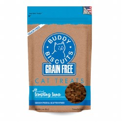 Buddy Biscuits - Cat Treats - Tempting Tuna - 3 oz