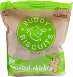 Buddy Biscuits - Dog Treats - Crunchy - Roasted Chicken - 3.5 lb
