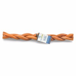Barkworthies - Braided Bully Stick - 12 in