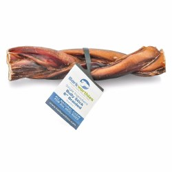 Barkworthies - Braided Bully Stick - 6 in
