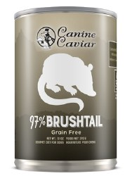 Canine Caviar - 97% Brushtail - Canned Dog Food - 13 oz