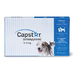 Capstar - 5 to 25 lb Dog and Cat - 6 doses