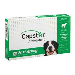 Capstar - Over 25 lb Dog - 6 doses