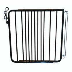 Cardinal - Auto Lock Gate - Black