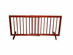 Cardinal - Step Over Gate - Walnut