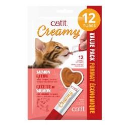 Catit - Creamy - Cat Treats - Salmon - 12 pack