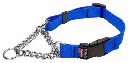 Cetacea - Chain Martingale Collar - Blue - XL