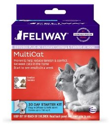 Feliway - Multi Cat - Conflict and Tension Diffuser