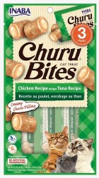Inaba - Ciao Churu Bites - Cat Treats - Tuna - 3 pack