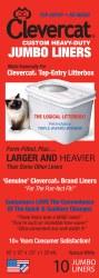 Clevercat - Jumbo Liners - 10 count