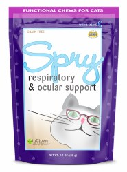 InClover Spry - Respiratory & Ocular Support Soft Chews - Cat Supplement - 60 ct