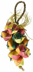 Planet Pleasures - Bird Toy - Cluster Square Balls