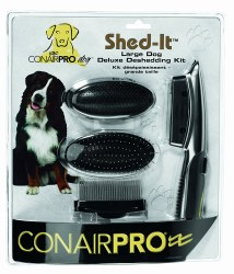 Conair - Shed-It Deluxe Shedding Kit - Large