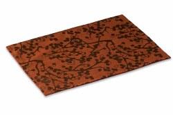 "Crypton Placemat - Cherries - Red Brick - 26x18"""