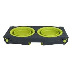 Dexas - Adjustable Raised Diner - Green - 4 cups