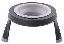 Dexas - Single Elevated Feeder - Light Gray - 4 cups